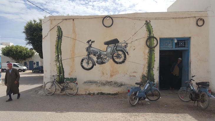 Artista: Malakkai - Espanha, Djerbahood, Erriadh, Djerba, Tunisia © Viaje Comigo