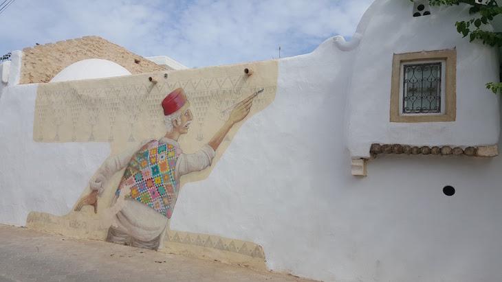 Artista: Mário Belém - Portugal, Djerbahood, Erriadh, Djerba, Tunisia © Viaje Comigo