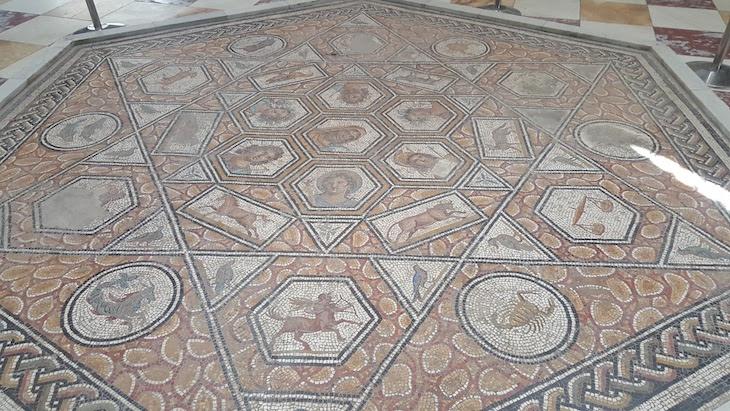 Mosaicos do Museu do Bardo Tunísia © Viaje Comigo