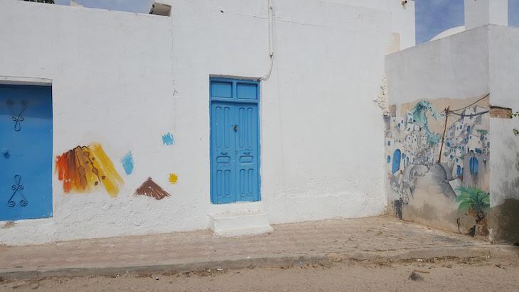 Artista: Nilko-Franca, Djerbahood, Erriadh, Djerba, Tunisia © Viaje Comigo