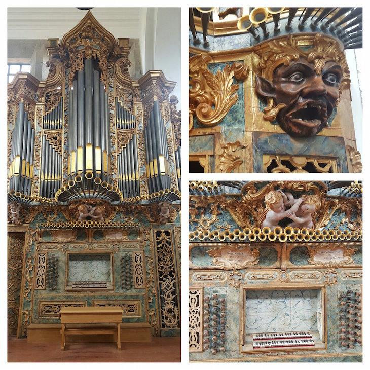 Órgão do Mosteiro de Pombeiro, Felgueiras © Viaje Comigo