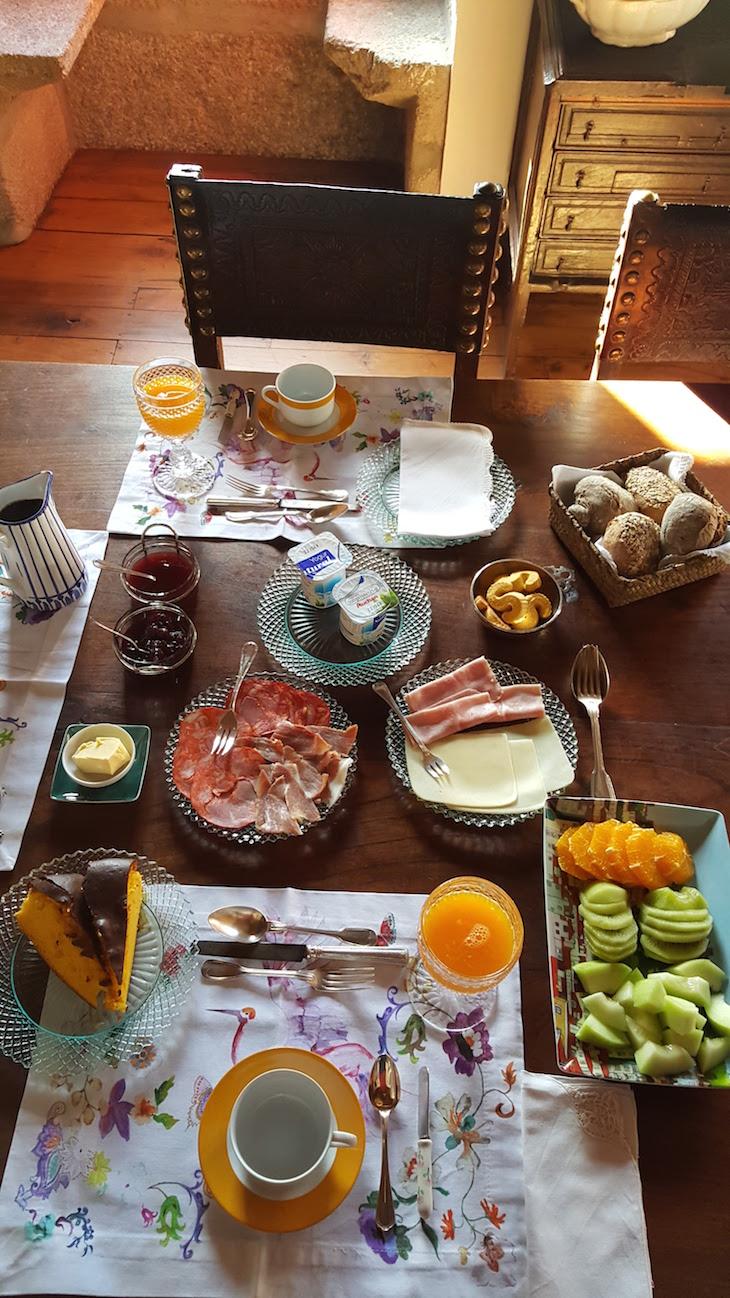 Pequeno almoço do Paço de Pombeiro Felgueiras © Viaje Comigo