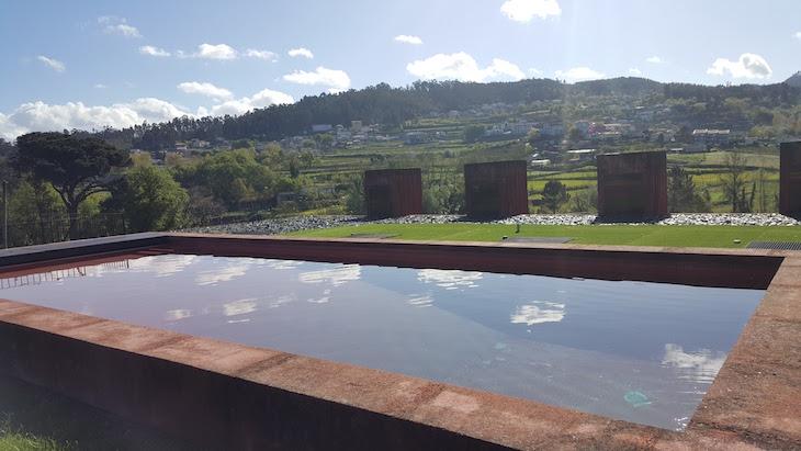 Piscina da Casa de Paço de Pombeiro Felgueiras © Viaje Comigo
