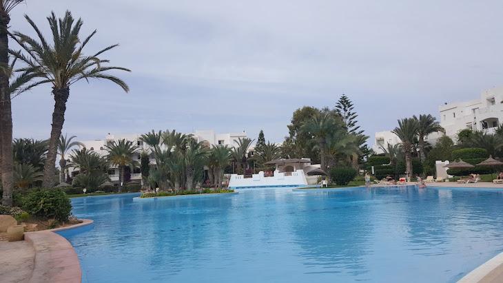 Piscina do Vincci Djerba Resort © Viaje Comigo