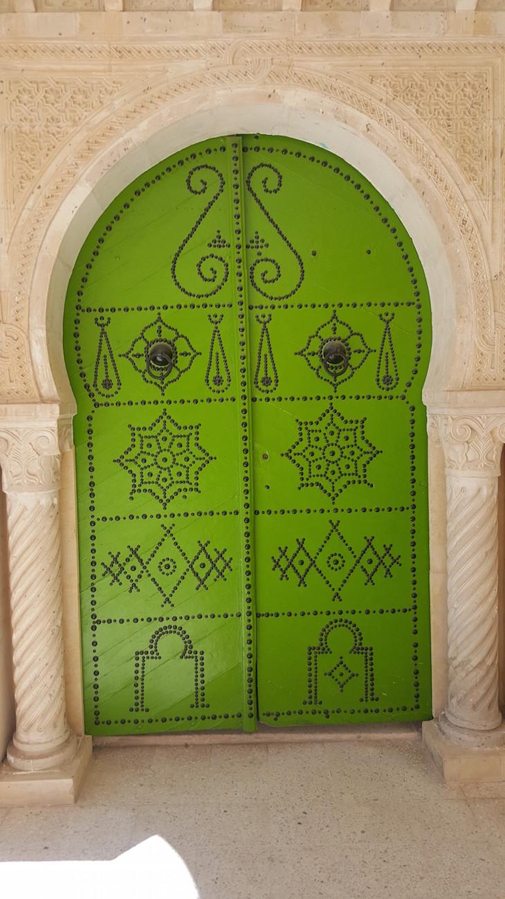 Porta da Mesquita El Jem @ Viaje Comigo