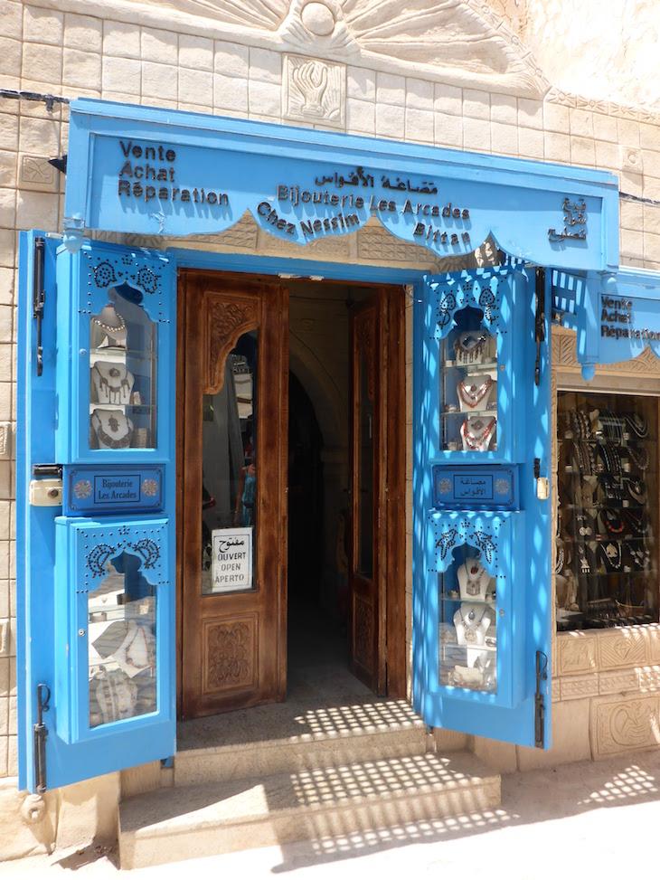 Porta de loja, Djerba, Tunisia © Viaje Comigo