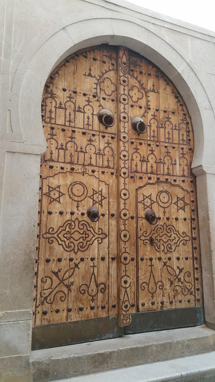 Porta no Museu Bardo, Tunisia © Viaje Comigo