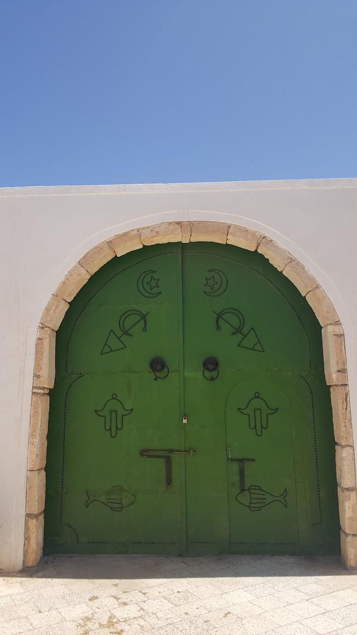 Porta no Museu de Guellala, Tunisia © Viaje Comigo