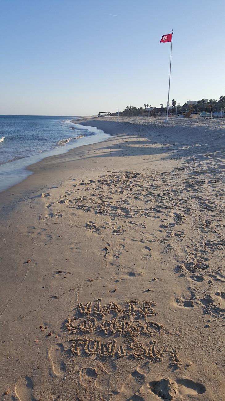 Praia do Vincci Nozha Beach © Viaje Comigo