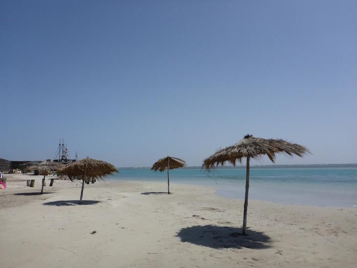 Ras R'Mal - Ilha dos Flamingos, Djerba, Tunísia © Viaje Comigo