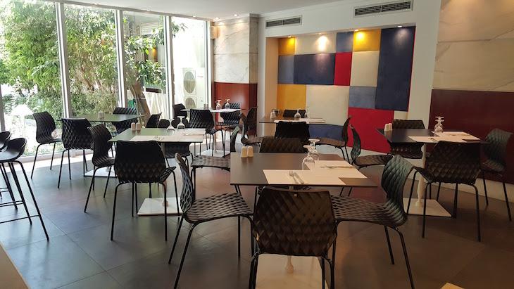 Restaurante Don Giovanni no Hotel Airotel Alexandros, Atenas, Grécia © Viaje Comigo