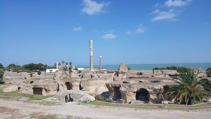 Ruínas de Cartago, Tunisia © Viaje Comigo
