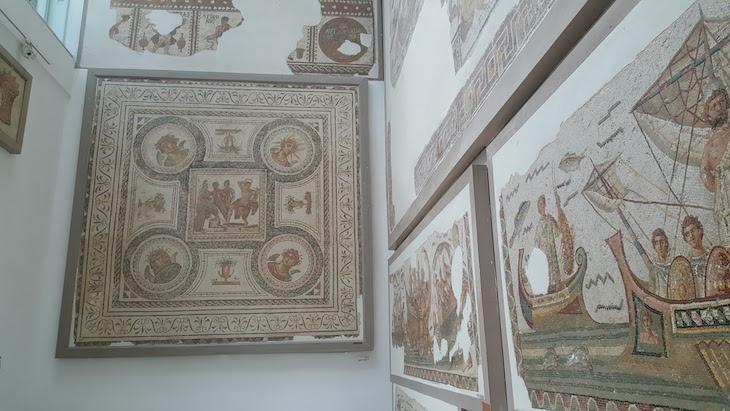 Sala de Mosaicos do Museu do Bardo, Tunísia © Viaje Comigo