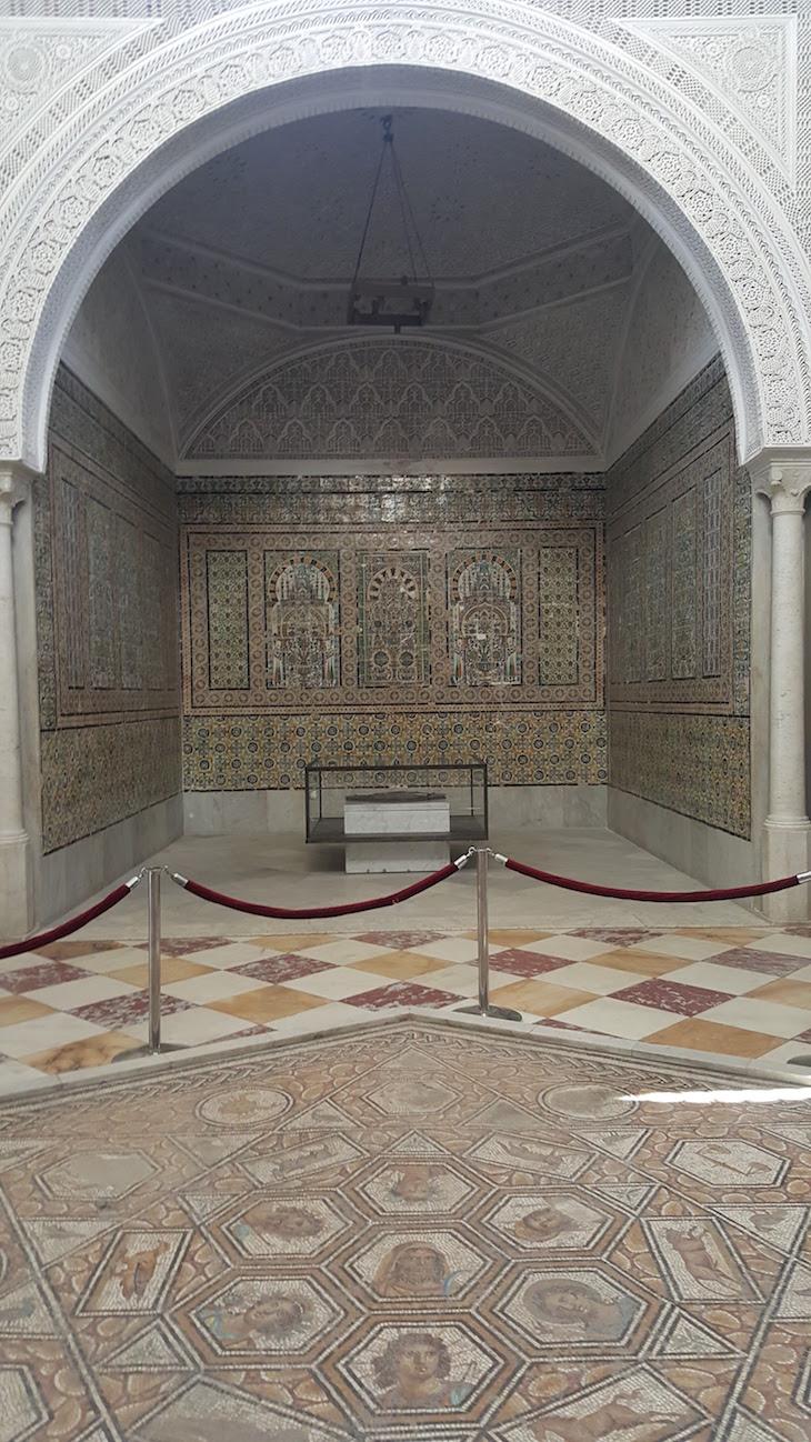 Sala do Museu do Bardo, Tunísia © Viaje Comigo