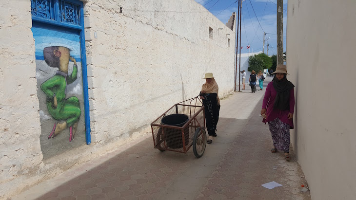 Artista: Seth, Djerbahood, Erriadh, Djerba, Tunisia © Viaje Comigo