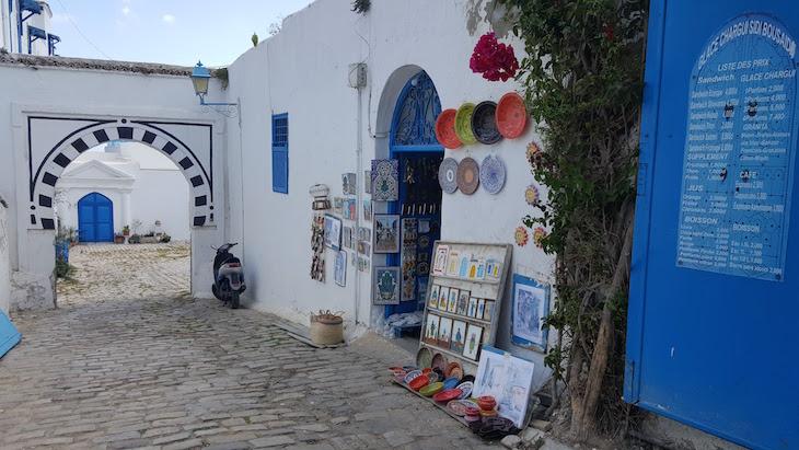 Sidi Bou Said, Tunísia © Viaje Comigo
