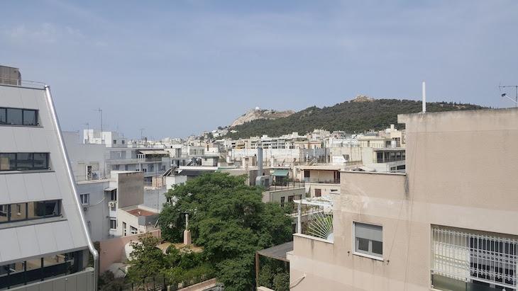 Vista do Hotel Airotel Alexandros, Atenas, Grécia © Viaje Comigo