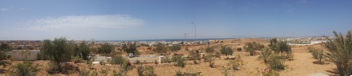 Vista panorâmica a partir do Museu de Guellala, Djerba, Tunísia © Viaje Comigo