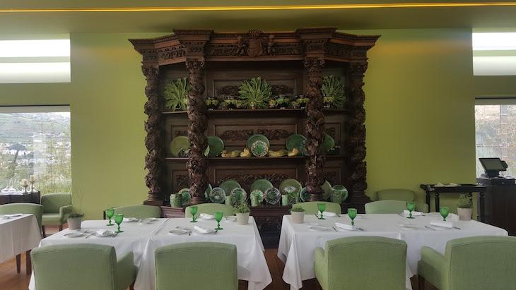 Armário do restaurante da Quinta da Pacheca © Viaje Comigo