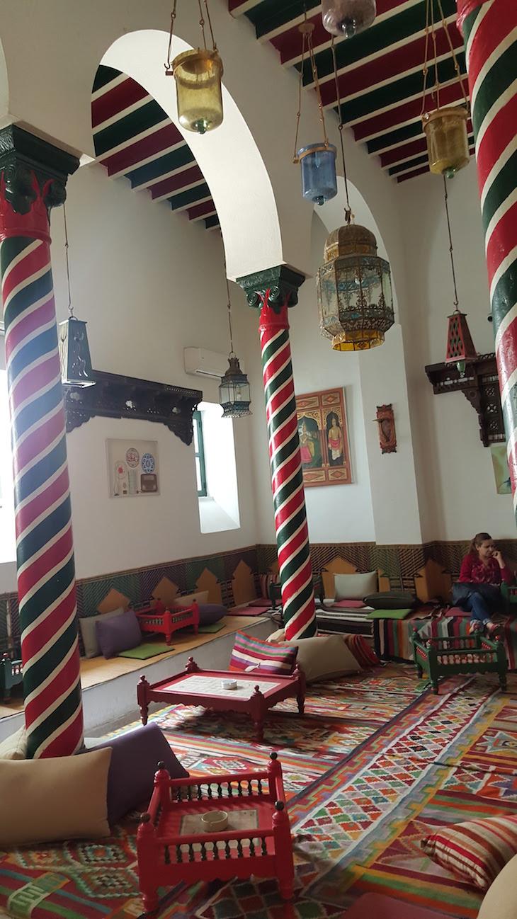 Café e Restaurante M'Rabet, Tunes, Tunísia © Viaje Comigo