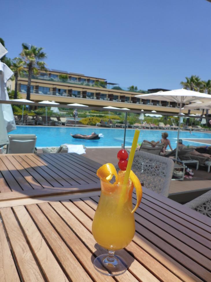 Cocktail no Epic Sana Algarve © Viaje Comigo