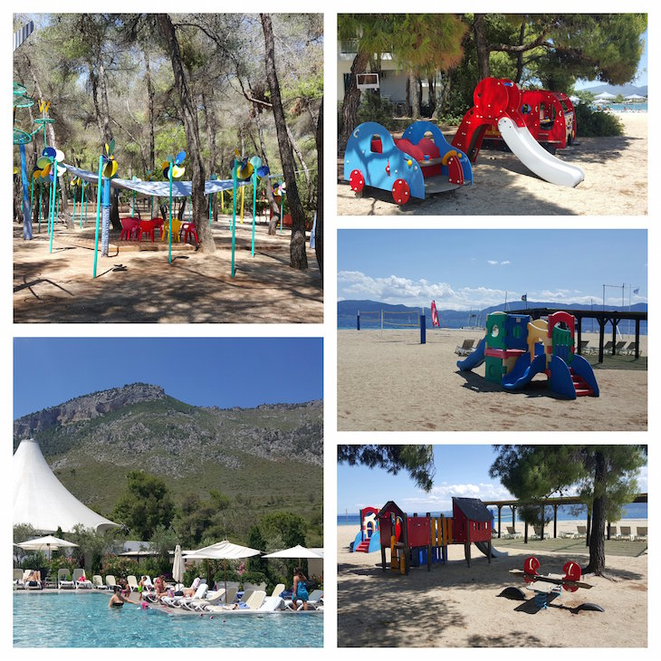 Entreter crianças no Club Med Gregolimano - Grécia © Viaje Comigo