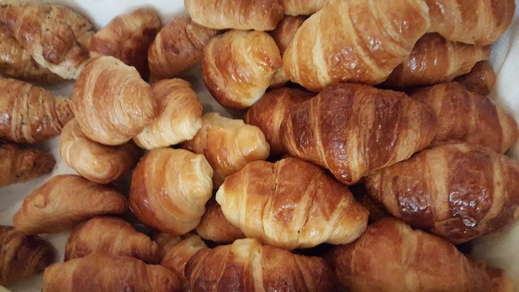 Croissants no Czar Lisbon Hotel © Viaje Comigo