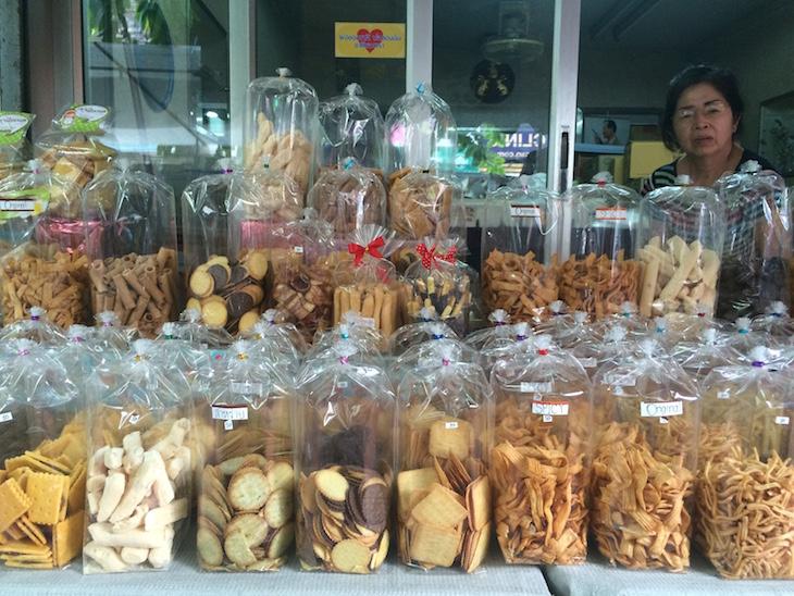 Doces e bolachas em Banguecoque, Tailândia © Viaje Comigo