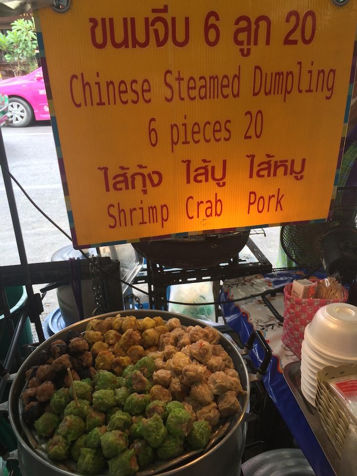 Dumplings em Banguecoque, Tailândia © Viaje Comigo