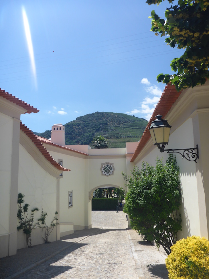 Exterior do Vintage House Hotel no Pinhão © Viaje Comigo