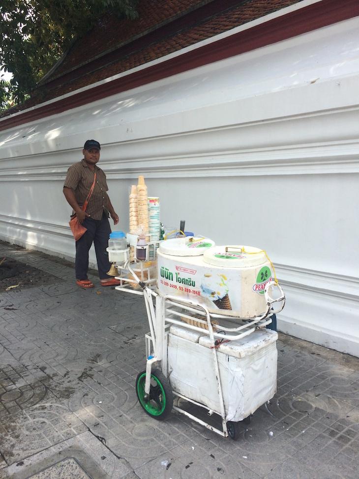 Gelados na rua Banguecoque, Tailândia © Viaje Comigo