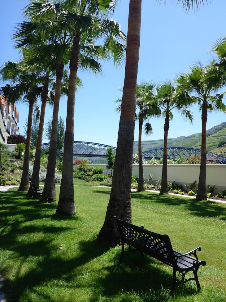 Jardins do Vintage House Hotel no Pinhão © Viaje Comigo