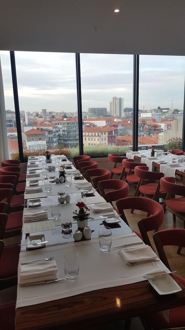 Mesa do Portobello Rooftop Restaurant & Bar © Viaje Comigo