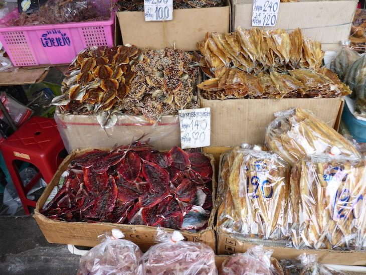 Peixe seco - Banguecoque, Tailândia © Viaje Comigo