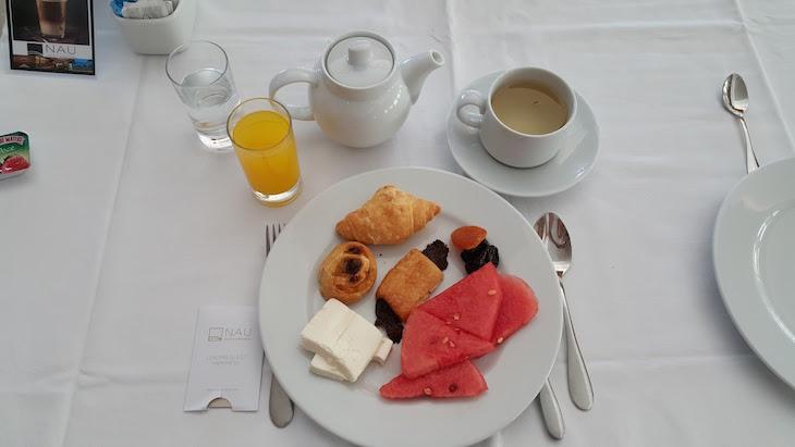 Pequeno-almoço do São Rafael Atlântico © Viaje Comigo