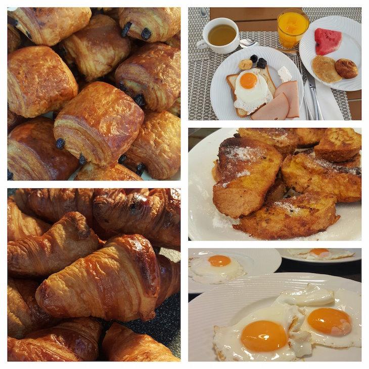 Pequeno-almoço no Club Med Gregolimano - Grécia © Viaje Comigo