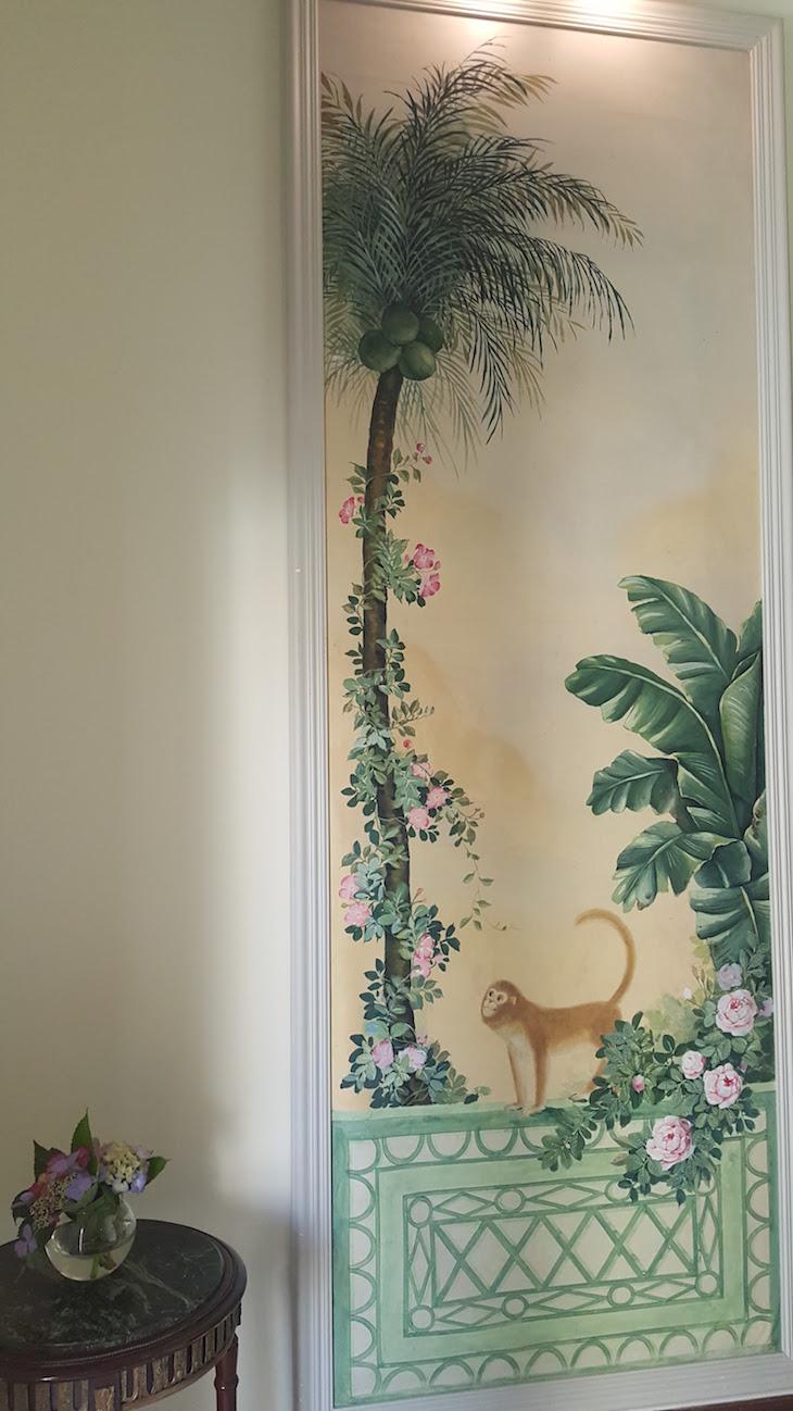 Pintura no Vintage House Hotel no Pinhão © Viaje Comigo