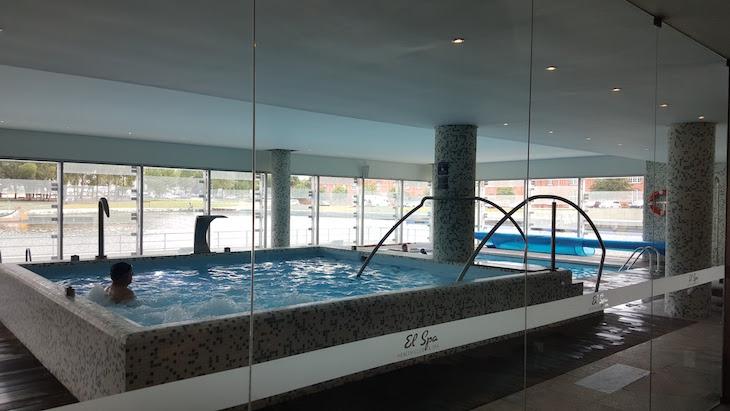 Piscina do Meliá Ria Hotel & Spa, Aveiro © Viaje Comigo