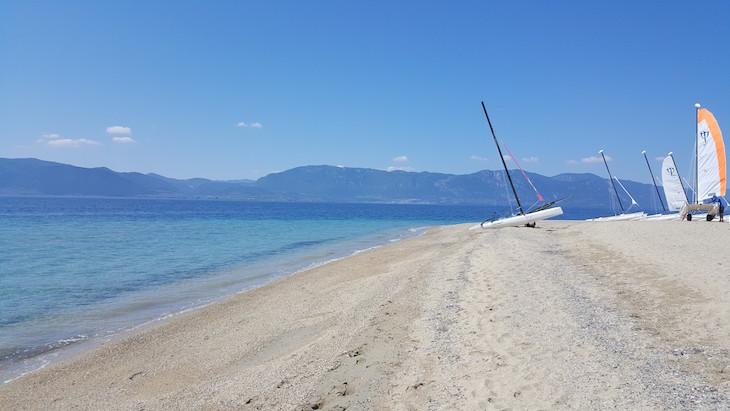 Praia Club Med Gregolimano, Evia, Grécia © Viaje Comigo