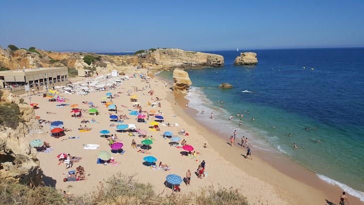 Praia de São Rafael, Algarve © Viaje Comigo