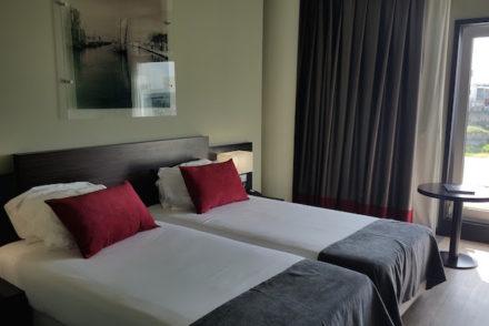 Quarto do Meliá Ria Hotel & Spa, Aveiro © Viaje Comigo