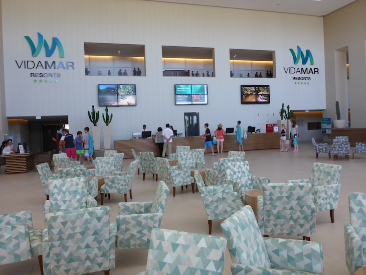Receção do Vidamar Resort Algarve © Viaje Comigo