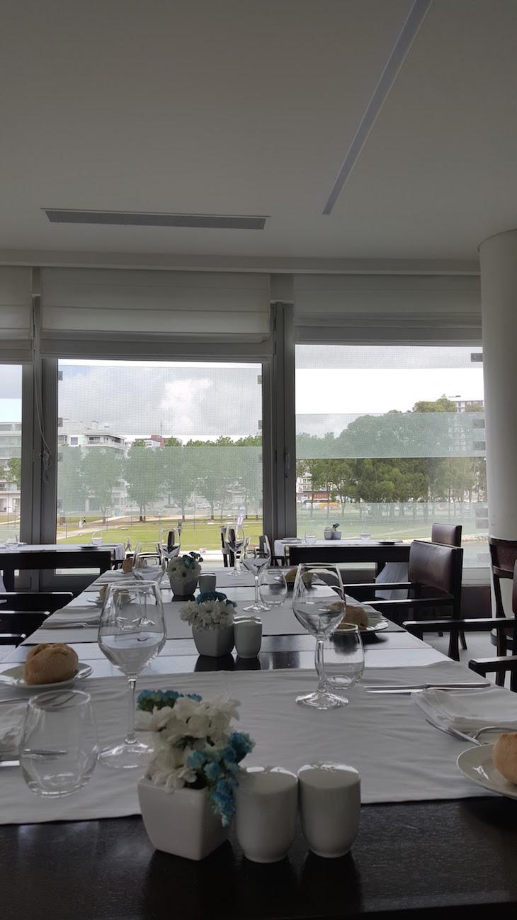Restaurante O Lago do Meliá Ria Hotel & Spa, Aveiro © Viaje Comigo