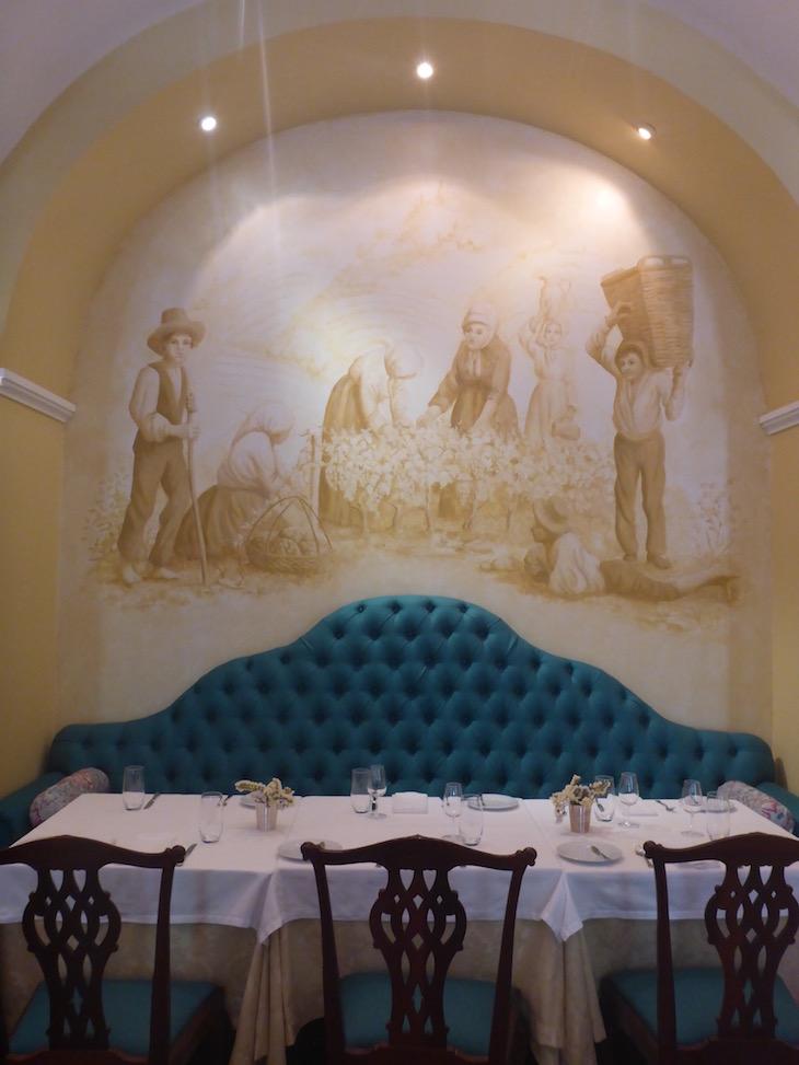 Restaurante do Vintage House Hotel no Pinhão © Viaje Comigo