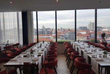 Sala do Portobello Rooftop Restaurant & Bar © Viaje Comigo