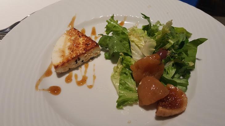 Salada com figo Grego © Viaje Comigo