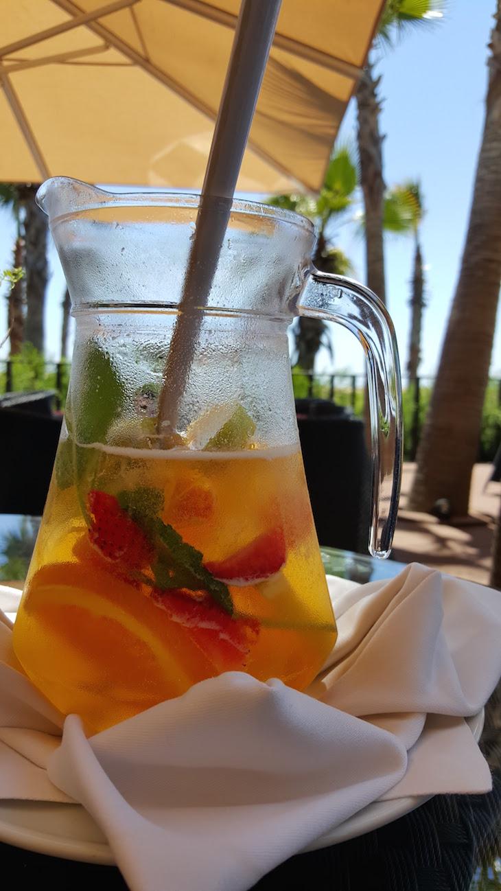 Sangria no Mamma Mia do Vidamar Resort Algarve © Viaje Comigo