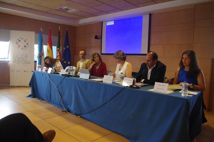 Susana Ribeiro na Mesa da Jornada Transfronteiriça de Relexão sobre Turismo na Euroregião Galicia – Norte de Portugal