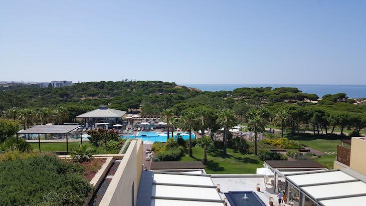 Vista do quarto do Epic Sana Algarve © Viaje Comigo