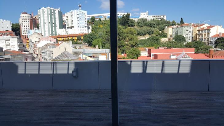 Vista do sétimo andar do Czar Lisbon Hotel © Viaje Comigo